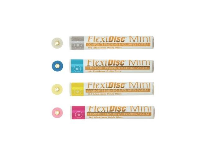 Krążki Flexi żółte-polerujące
