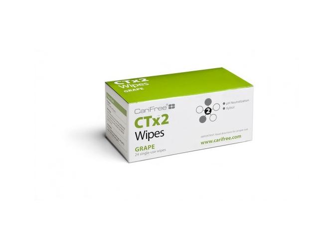 Chusteczki CariFree  CTx2 dla niemowląt i dzieci